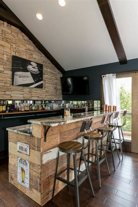 elegant rustic home bar designs   customize