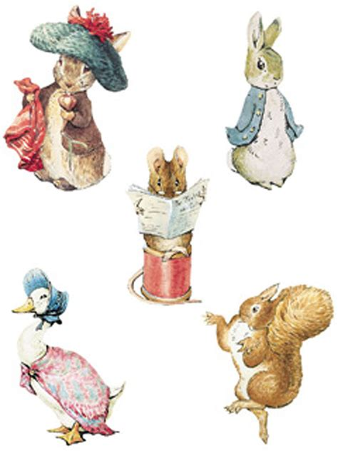 beatrix potter wall stickers 25 wallies beatrix potter bunny rabbit characters