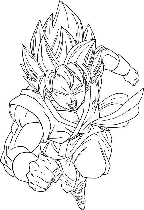 dragon ball z super saiyan god coloring pages goku super saiyan 100 free colouring pages