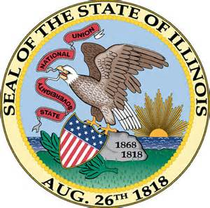 of illinois colors illinois state seal color