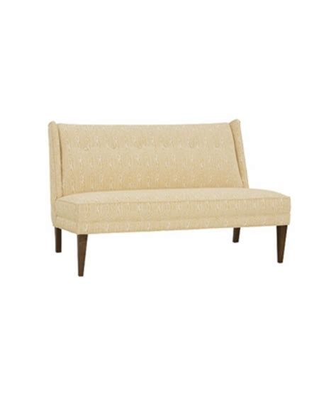 dining settee upholstered fabric upholstered dining settee banquette club furniture