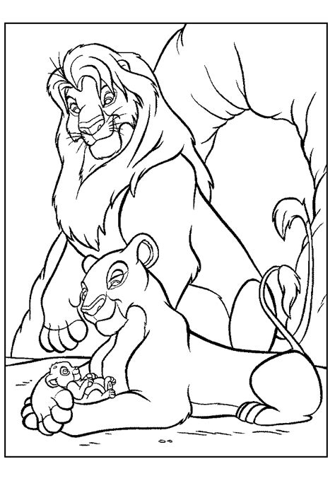 lion king coloring pages online the lion king coloring pages coloring home