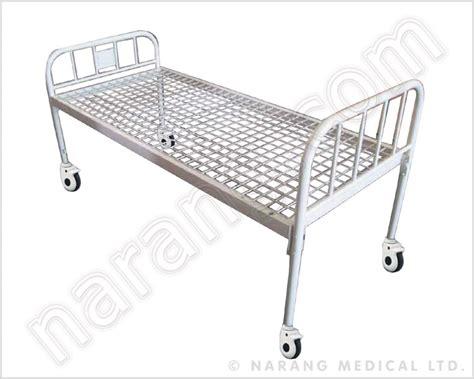 Plain Metal Bed Frame Standard Plain Hospital Bed Hf1813 Manufacturer
