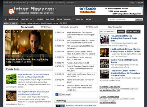 blogger news 10 best news magazine premium blogger templates for free