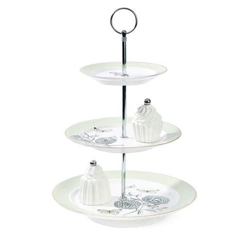 Etagere 3 Stöckig Glas by Miss 201 Toile Etagere Big Flower 3 St 246 Ckig Mintgr 252 N Cake