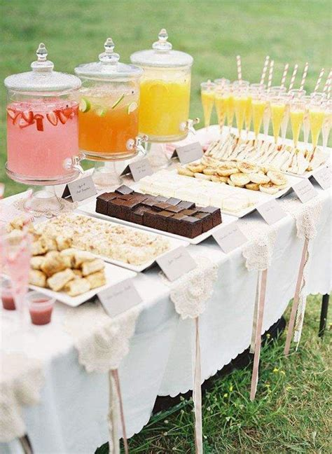 bridal shower table 17 best ideas about dessert tables on pinterest