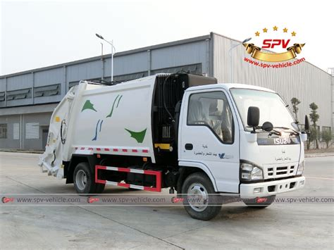 spv is shipping one unit of isuzu garbage compactor truck