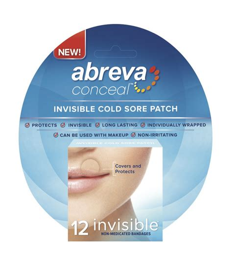 why would someone be covered in sores carmindy joins abreva to launch abreva conceal a patch