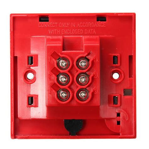 Alarm Bell 6 signal alarm safety bell