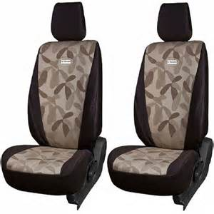 Car Seat Covers Fabric India Buy Branded Printed Car Seat Cover For Honda Cr V Brown