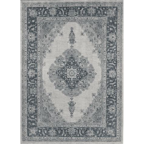 pet friendly rugs ruggable parisa grey 5 ft x 7 ft pet friendly 2 washable area rug system 131631 the