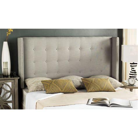 silver headboard queen safavieh keegan silver queen headboard mcr4006k q the