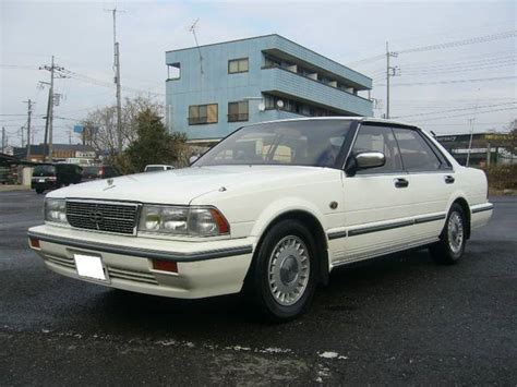 nissan gloria vip nissan gloria brougham vip turbo 1990 white 143 000