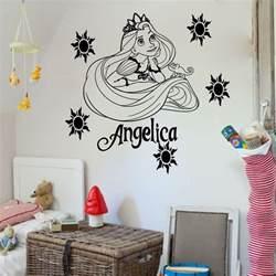 Disney Wall Art Stickers Disney Princess Rapunzel Tangled Vinyl Wall Art Sticker