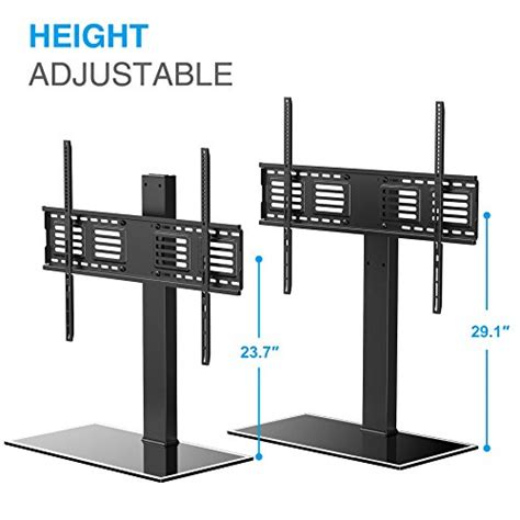 80 Inch Tv Stand With Mount by Fitueyes Universal Tv Stand With Swivel Mount Height
