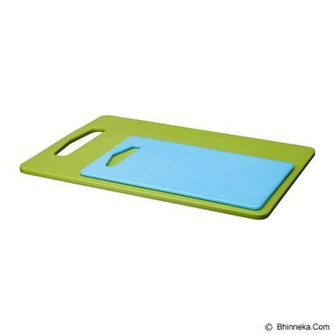 Talenan Dapur Telenan Plastik Chopping Cutting Board Papan Kitchen Set jual ikea legitim talenan 2 set biru dan hijau murah bhinneka