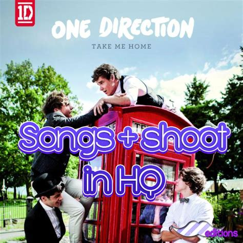 one direction take me home cd shoot in hq by