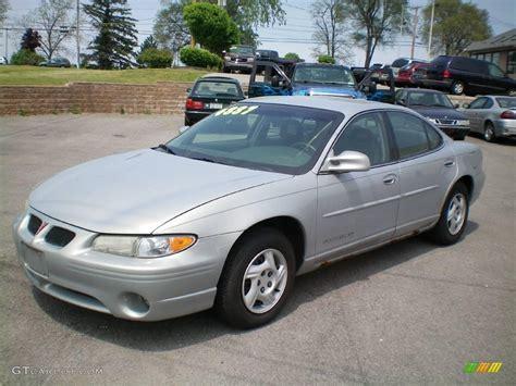 pontiac grand prix 2000 2000 silvermist metallic pontiac grand prix se sedan