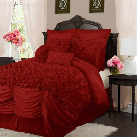 comforter sets deals l amour eternel lucia 4 piece contemporary comforter set