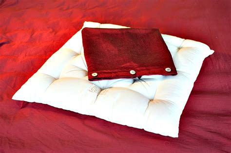 Pillow With Cover by Meditation Pillow Shepherd S
