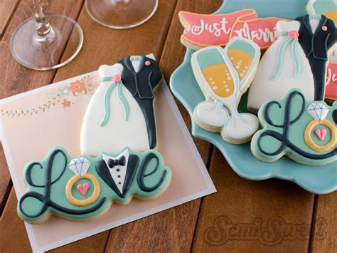 How to Make Wedding Love Cookies   Semi Sweet Designs