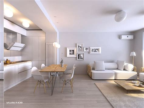 Minimalist Apartment by Apartment Living For The Modern Minimalist