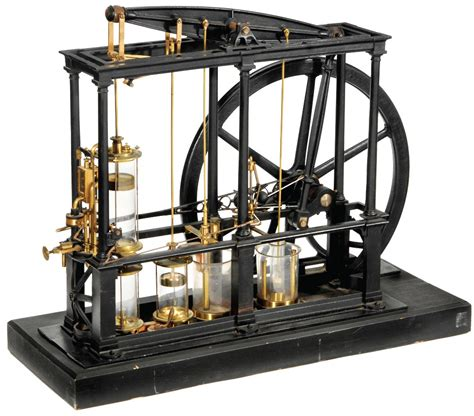 biography of james watt steam engine james watt type beam steam engine from the early 1850s