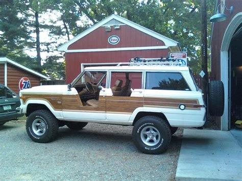 jeep grand wagoneer custom custom half doors for a jeep grand wagoneer for the summer