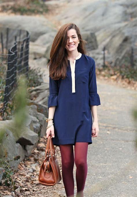 Dress Chike Maroon bunte strumpfhosen liegen wieder voll im trend