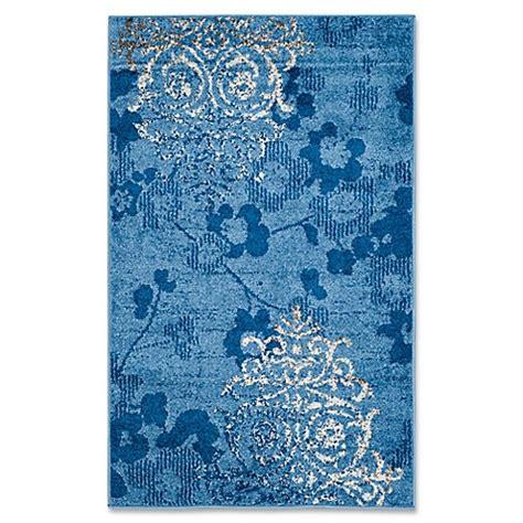 1 foot by 3 foot rug buy safavieh adirondack 3 foot x 5 foot area rug in blue