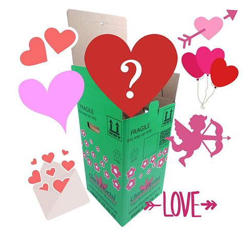 a mysterious valentines card mystery s bouquet by clare florist with free