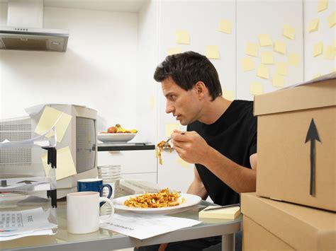 Mindless Eating At Work Put Down The Bag Of Pretzels Snacks For Office Desk