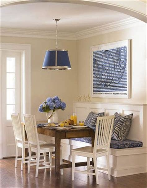 Corner Banquette Dining by Kitchen Banquette Tobi Fairley