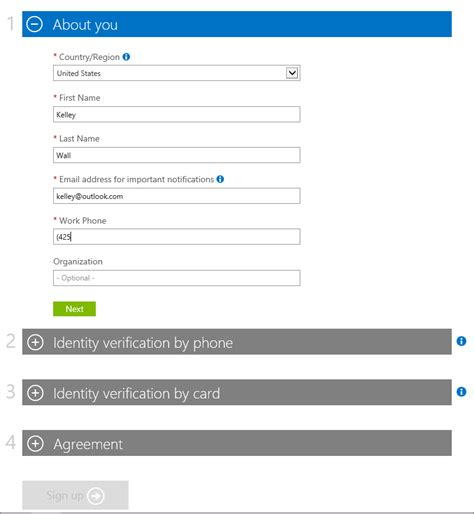 Office 365 Sign In With Your Organizational Account by Sign Up For Azure With Office 365 Account Microsoft Docs