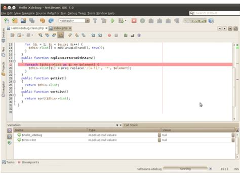 netbeans xdebug tutorial netbeans debug php phpsourcecode net