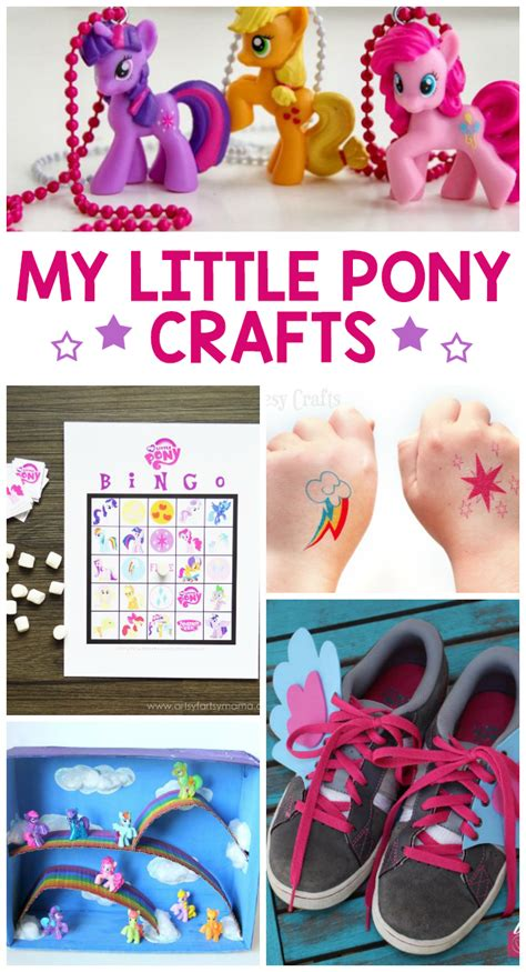 crafts to do with pony 11 adorable my pony crafts