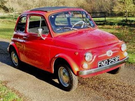 fiat 500 history nostalgia the history of the fiat 500 in your pictures