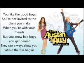 Top 10 And Ally Songs 10 Your Lyrics Song Ross Lynch