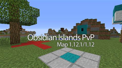 pvp island minecraft map obsidian islands pvp map 1 12 2 1 12 for minecraft