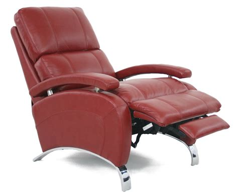 reclining armchair barcalounger oracle ii recliner chair leather recliner