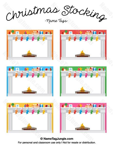 printable name tags for stockings 268 best images about name tags at nametagjungle com on