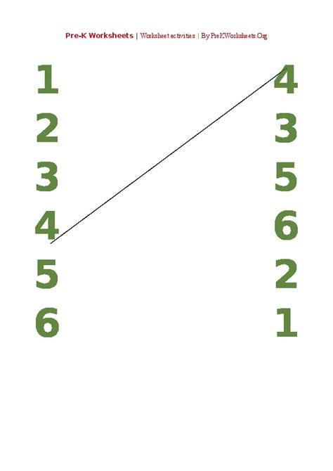 pre k activities search results for number recognition worksheets