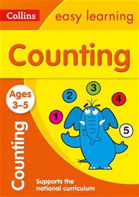 0008134200 collins easy learning age collins easy learning preschool counting ages 3 5