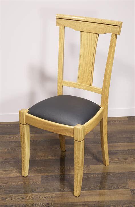 chaise en chêne massif chaise en ch 234 ne massif de style louis philippe