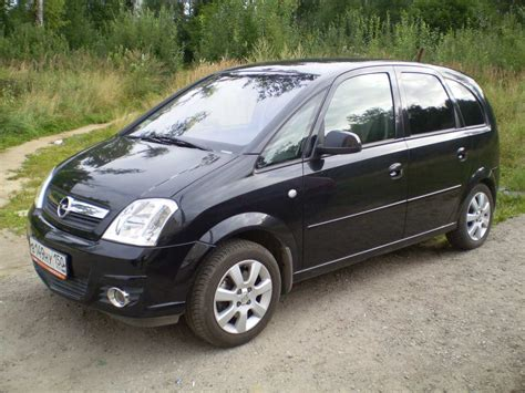 2007 Opel Meriva Pictures 1598cc Gasoline Ff Manual