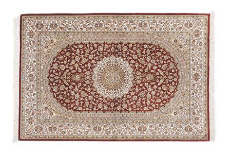 tappeti persiani seta tappeto persiano qum seta floreale 150x104