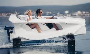 catamaran james bond incredible james bond style electric catamaran that