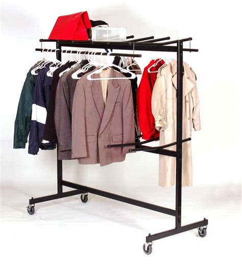 Folding Chair Rack by Correll C84 C Hanging Folding Chair Cart With Coat Rack Kit