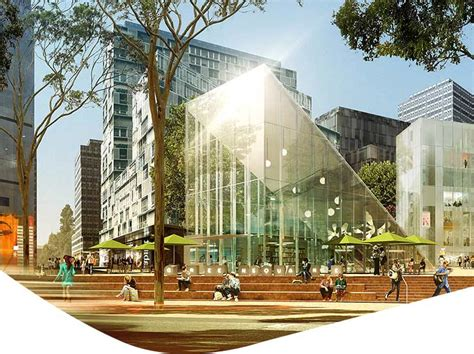 Country House Design green square library and plaza city of sydney