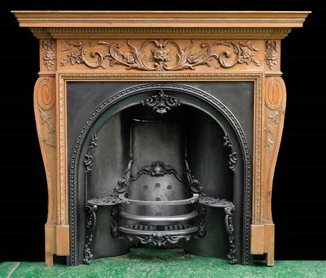 Carved Fireplace by Georgian Carved Wood Fireplace Mantel